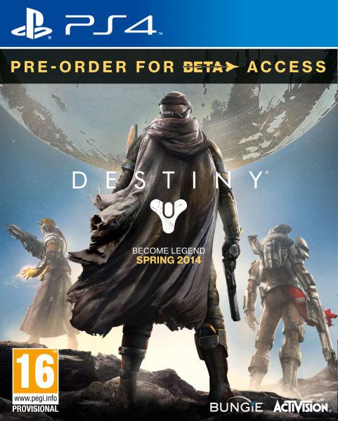 Pré-commande : Destiny sur PS4 et XBOX One