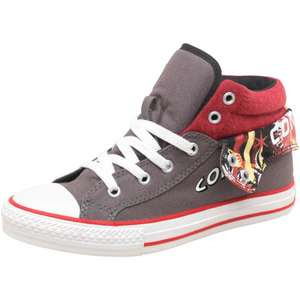 Baskets Montantes Converse CT All Star Padded Collar 2 Junior Anthracite/Rouge