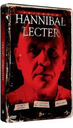Coffret DVD Hannibal Lecter - La Trilogie Edition Steelbook