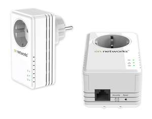 Pack de 2 prise CPL 200Mbps On Networks avec prise