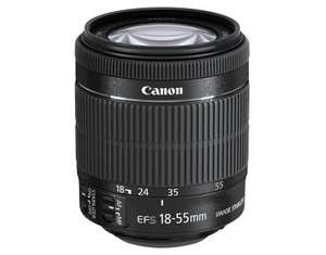 Objectif photo Canon EF-S 18-55mm F3.5-5.6 IS STM Bulk