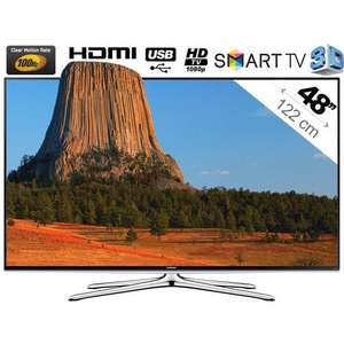 "TV 48"" LED 3D Samsung UE48H6200"