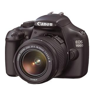 Appareil photo Canon EOS 1100D Noir + Objectif EFS 18-55 mm