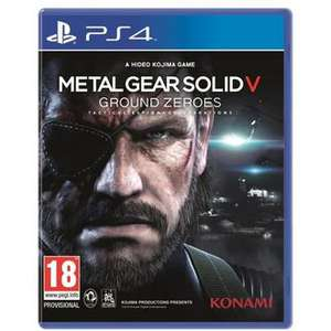 Jeu Metal Gear Solid V: Ground Zeroes sur PS4