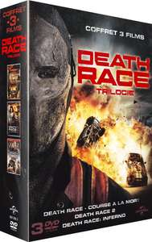 Coffret DVD Death Race Trilogie