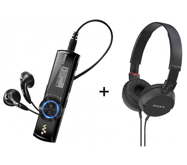 Lecteur MP3 Sony NWZ-B173 4 Go noir + Casque MDRZX100