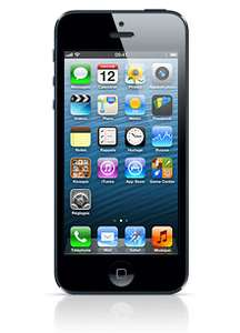 Smartphone Apple iPhone 5 64Go noir ou blanc neuf