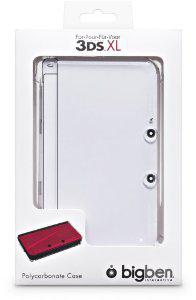 coque de protection transparente pour Nintendo 3DS XL