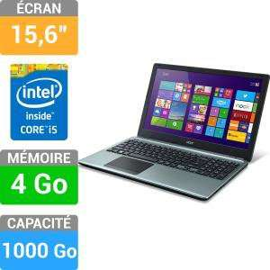 "PC portable Acer E1-572-54204G1TMnii - 15.4"", i5, 4Go, 1To"