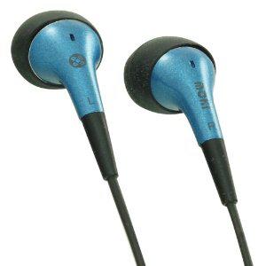 (Panier plus) Ecouteurs Intra-auriculaires Moki Funk Jack 3,5 mm Bleu