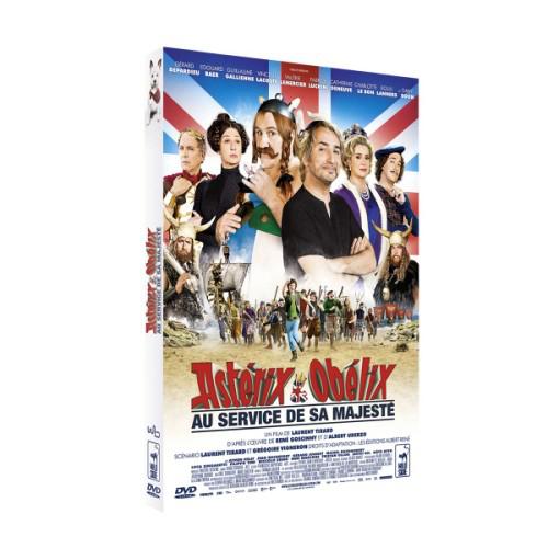 DVD Astérix et Obélix au service de sa majesté