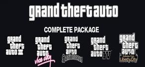 Grand Theft Auto complete Package pour PC (Dématérialisé - Steam)