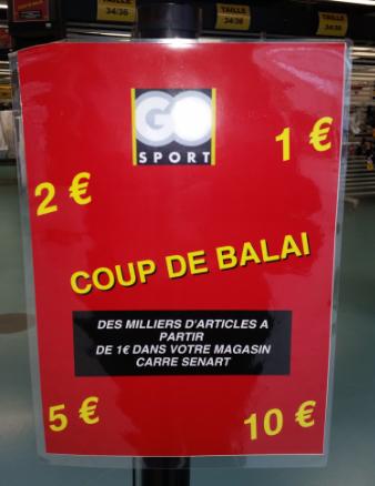 Liquidation totale avant fermeture définitive - Articles à 1 , 2 , 5 ou 10€