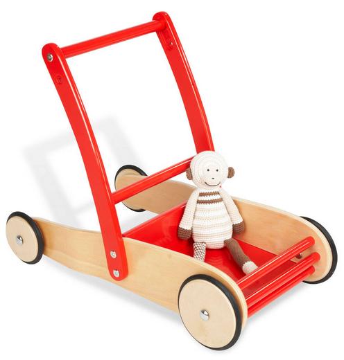 Soldes jusqu'a -80% sur des articles pour bébé - Ex : Voiture de poupée Uli en hêtre massif