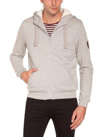 Sweat-shirt zippé à capuche Harris Wilson (Tailles L, XL & XXL)