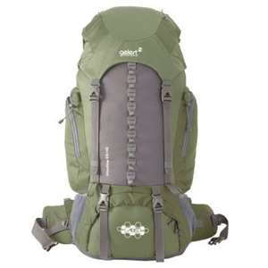 Sac de grande randonnée Gelert Shadow 65+10L Green
