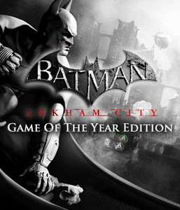 -75% sur la franchise Batman sur PC (Steam) - Ex : Origins Blackgate ou Arkham City GOTY