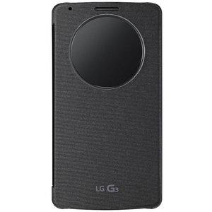 Etui LG Etui Quick Window Circle Noir pour LG G3 (avec ODR 20€)