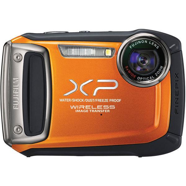 Appareil photo Finepix XP170 Orange + étui Fujifilm + carte SD 4 Go