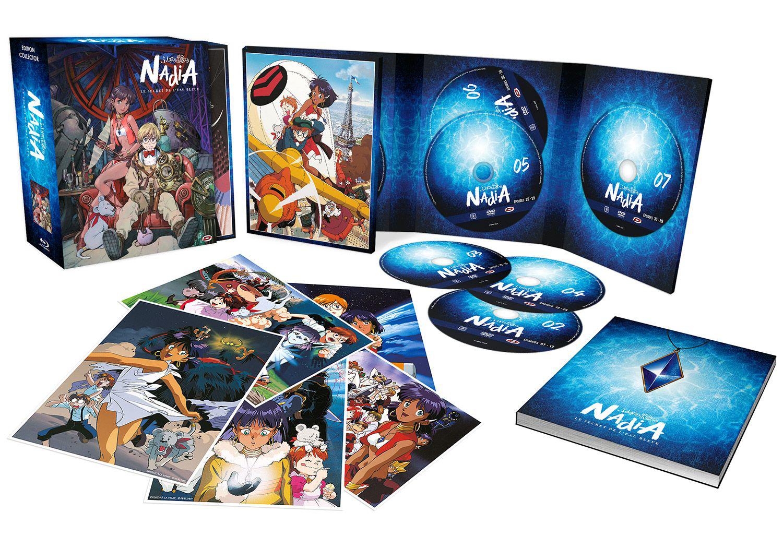 Coffret Blu-ray + DVD Intégrale Nadia: Le Secret de l'eau bleue - Edition collector