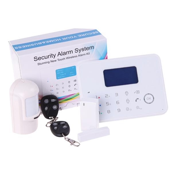 Jusqu'à -20% sur les nouveautés et -70% sur les soldes - Ex : Système d'alarme sans fil 30 zones
