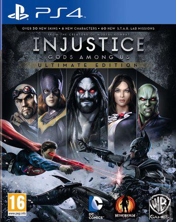 Injustice Gods Among Us + Lego Marvel Super Heroes sur PS4 (Dématérialisé)