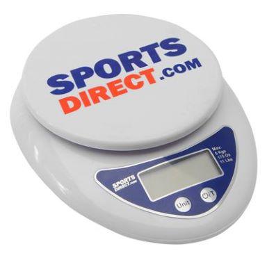 Accessoires Sportsdirect - Ex : Mégaphone à 6€, Set de poker à 8,40€, Balance de cuisine digitale (max. 5kg, piles incluses)
