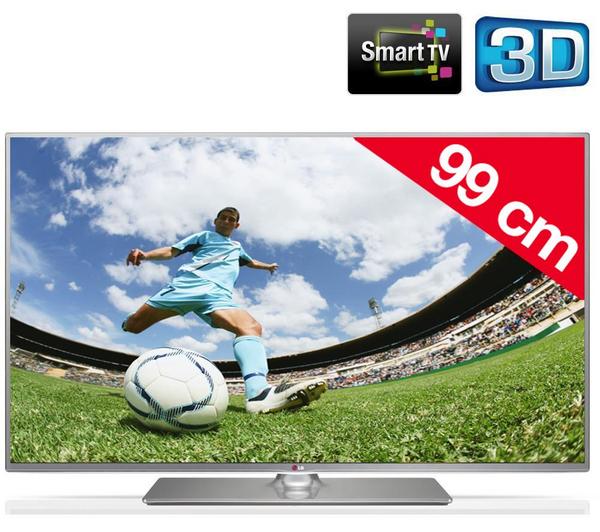 """TV LG 39"""" - 39LB650V LED 3D"""