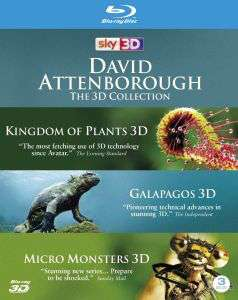 Coffret Blu-ray The David Attenbough Collection 3D (3 films)