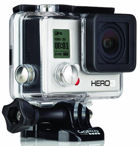 Caméra GoPro HERO3 White (edition 2014) - 5 Mpix USB Wi-Fi