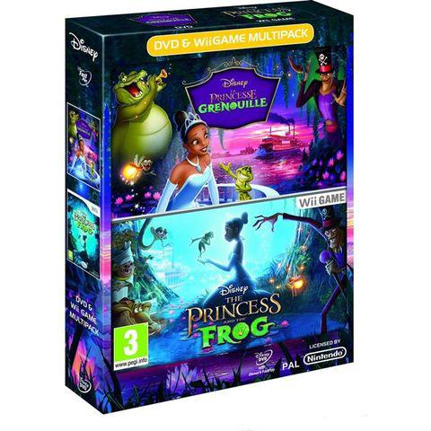Pack jeu Wii + DVD La Princesse et la Grenouille