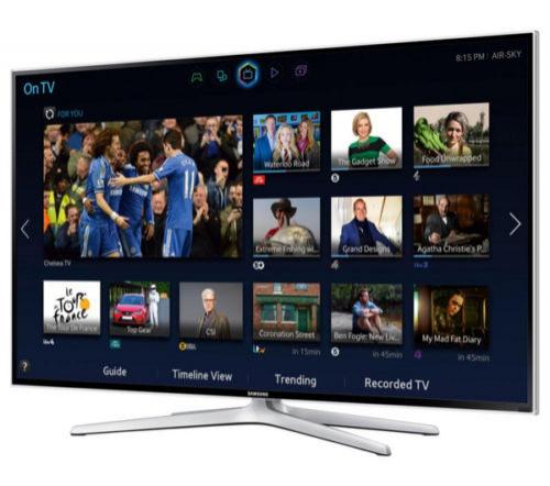 """Smart TV LED 48"""" Samsung UE48H6400 3D 1080p Full HD Téléviseur 400 hz 4 HDMI"""