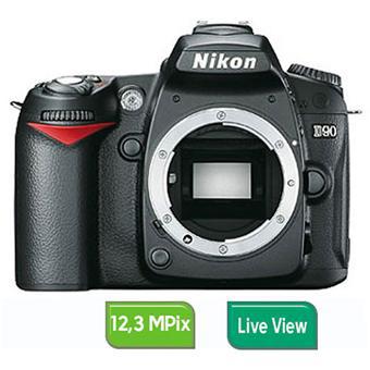 Appareil photo Nikon D90 Boîtier Nu