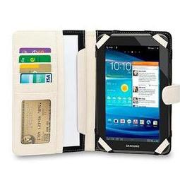 Housse universelle WE pour tablette 7'' avec porte carte