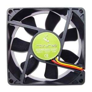 2 ventilateurs Rasurbo Basic Silent 80 ou Advance V-A80 pour PC 80mm