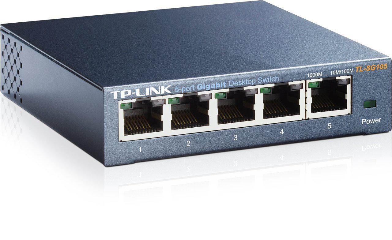 Switch TP-Link TL-SG105 (5 ports - Gigabit)