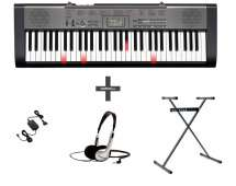 Clavier piano arrangeur Casio LK-125 SET + casque + stand