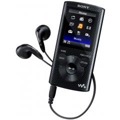 Lecteur MP3 vidéo Sony NWZE373B 4 Go avec écouteurs - Reconditionné