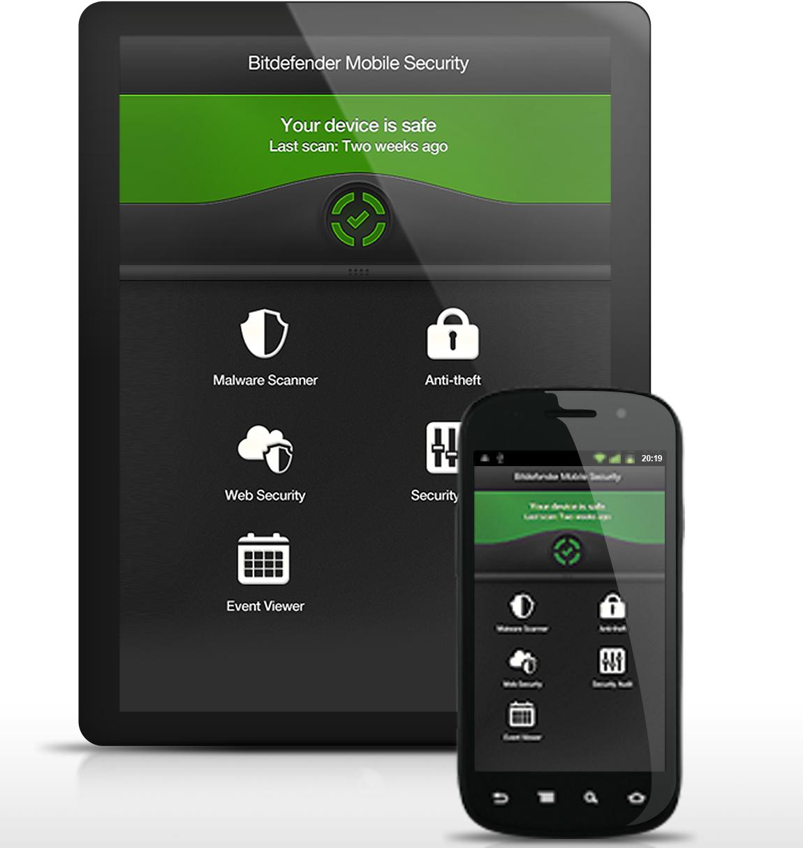 Licence Bitdefender Mobile security (anti-vol + antivirus) 6 mois gratuit