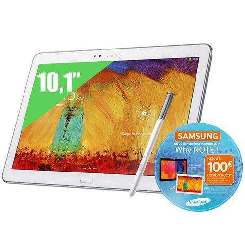 Tablette Samsung Galaxy Note 10.1 Edition 2014 Blanc