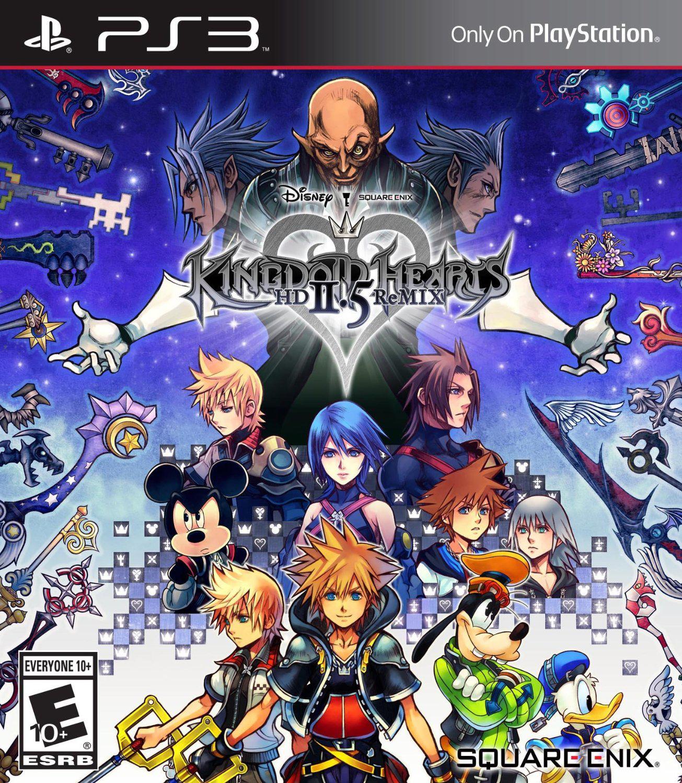 Pré-commande : Kingdom Hearts HD 2.5 Remix sur PS3