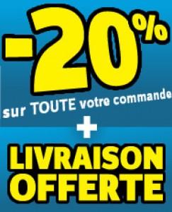 -20 % de réduction  + Frais de port offerts