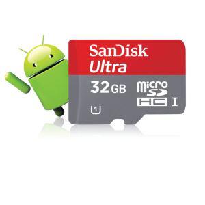 Carte microSDHC SanDisk Ultra 32 Go - Classe 10