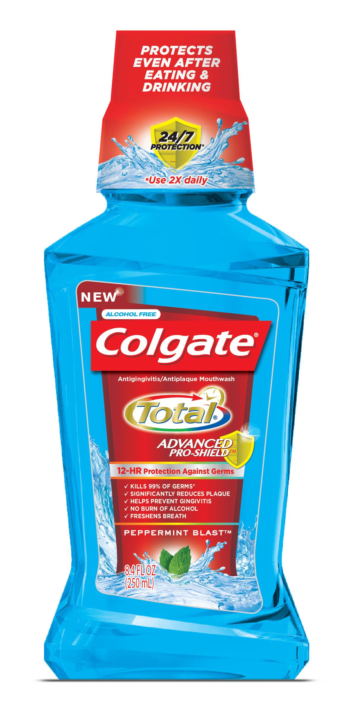 Bain de bouche Colgate Total 100% remboursé (au lieu de 5,50€ environ)