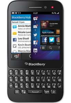 Smartphone Blackberry Q5 8 Go  4G - Noir