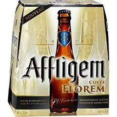 Pack de bières Affligem cuvée Florem 6x25cl gratuit (au lieu de 5.47€)