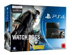 Pack Console Sony PS4 + Watch dogs