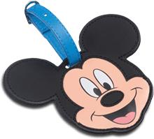 Etiquette à bagage Disney Mickey ou Minnie gratuite