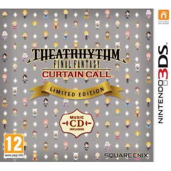 [Pré-commande] Theatrhythm Final Fantasy Curtain Call Edition Limitée sur Nintendo 3DS