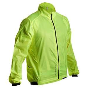 Veste coupe vent ultralight jaune